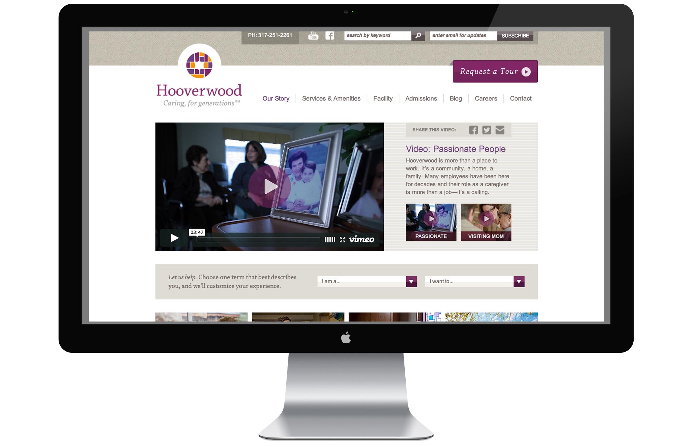 Hooverwood Website
