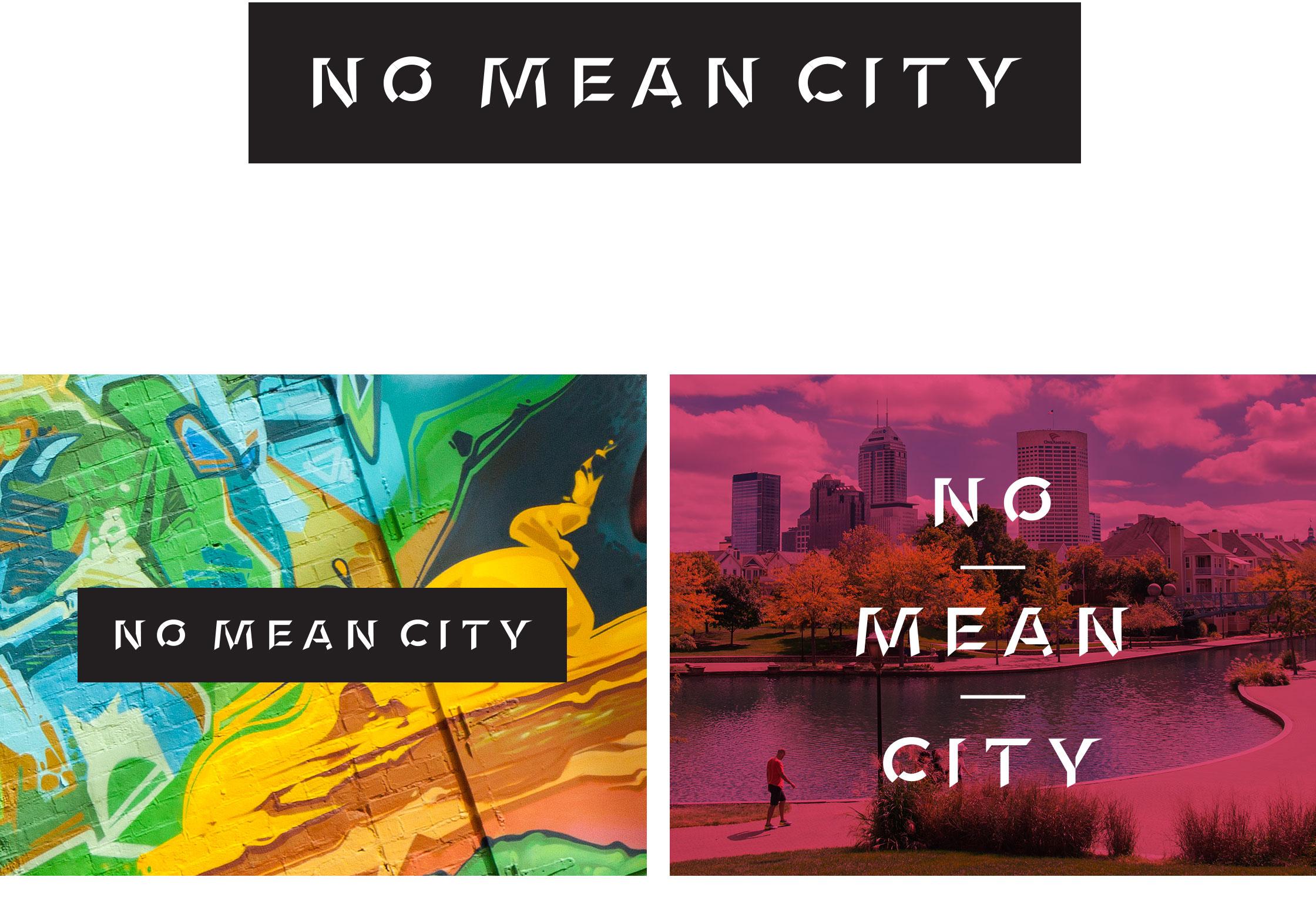 No Mean City Branding