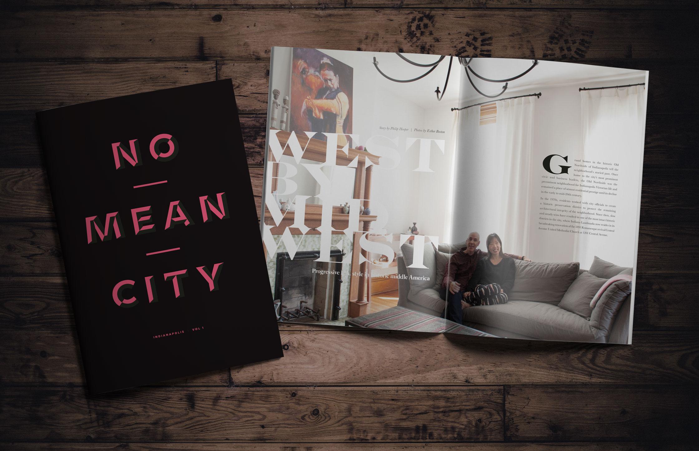 No Mean City Publication