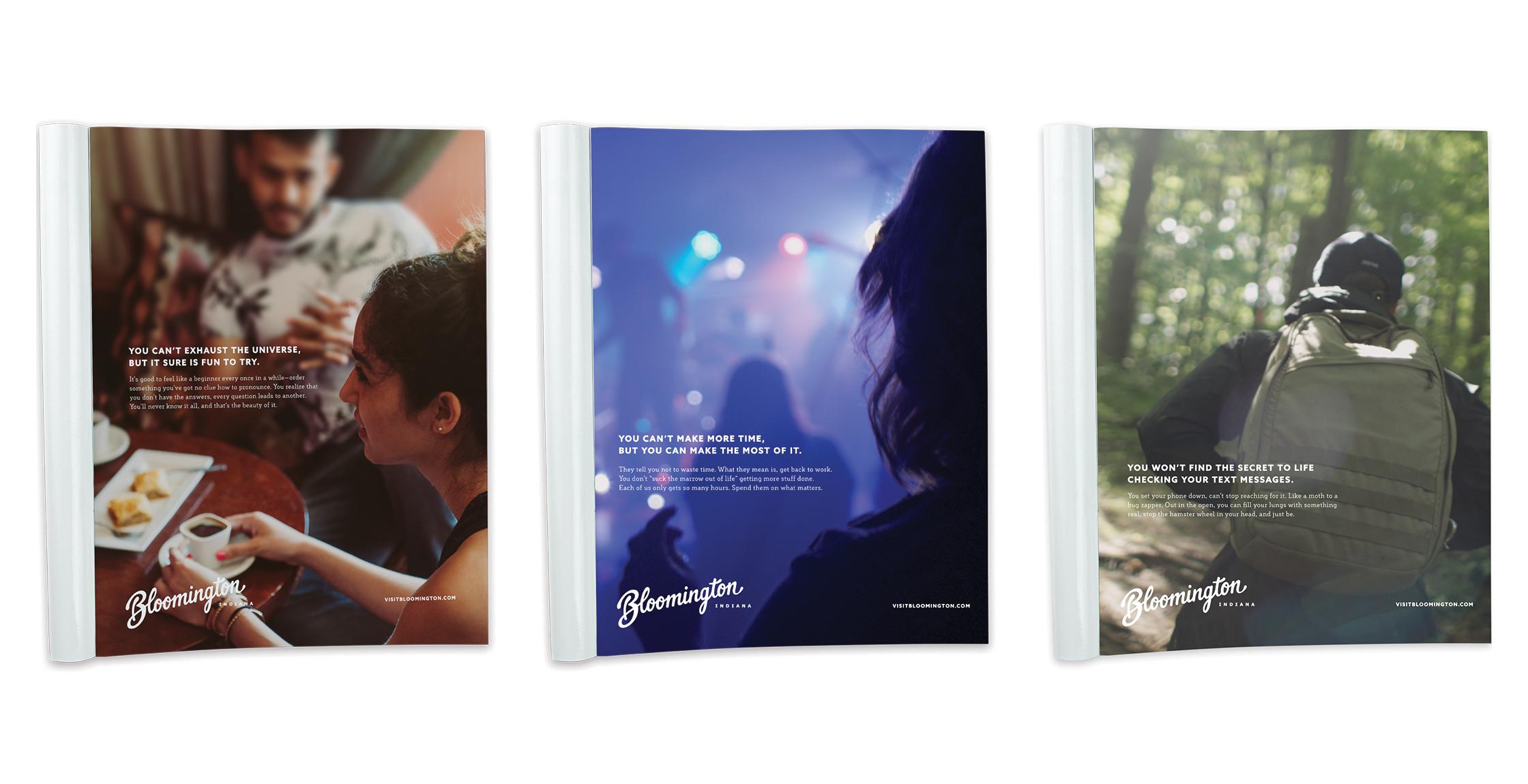Visit Bloomington Print Advertising