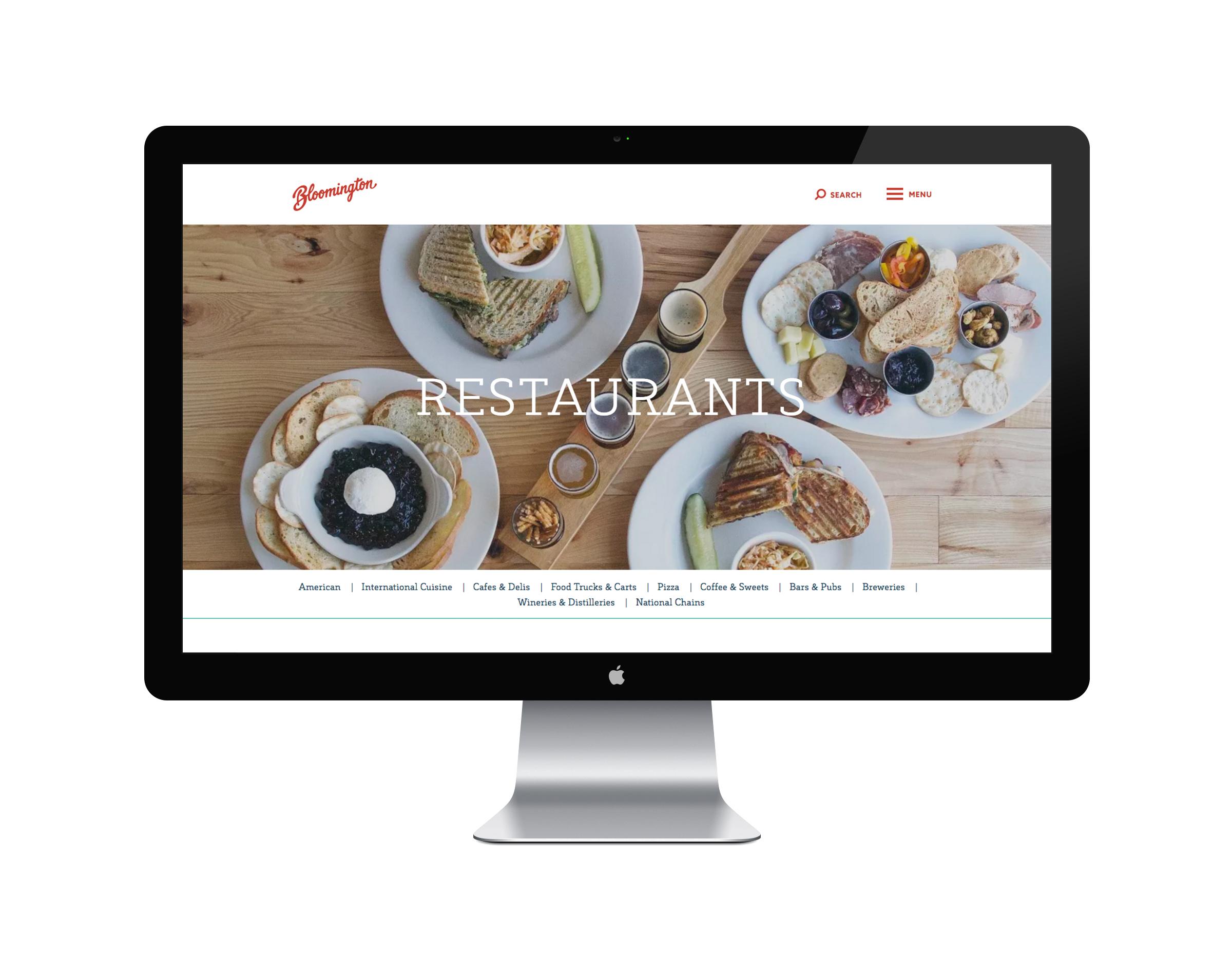 Website - Restaurants