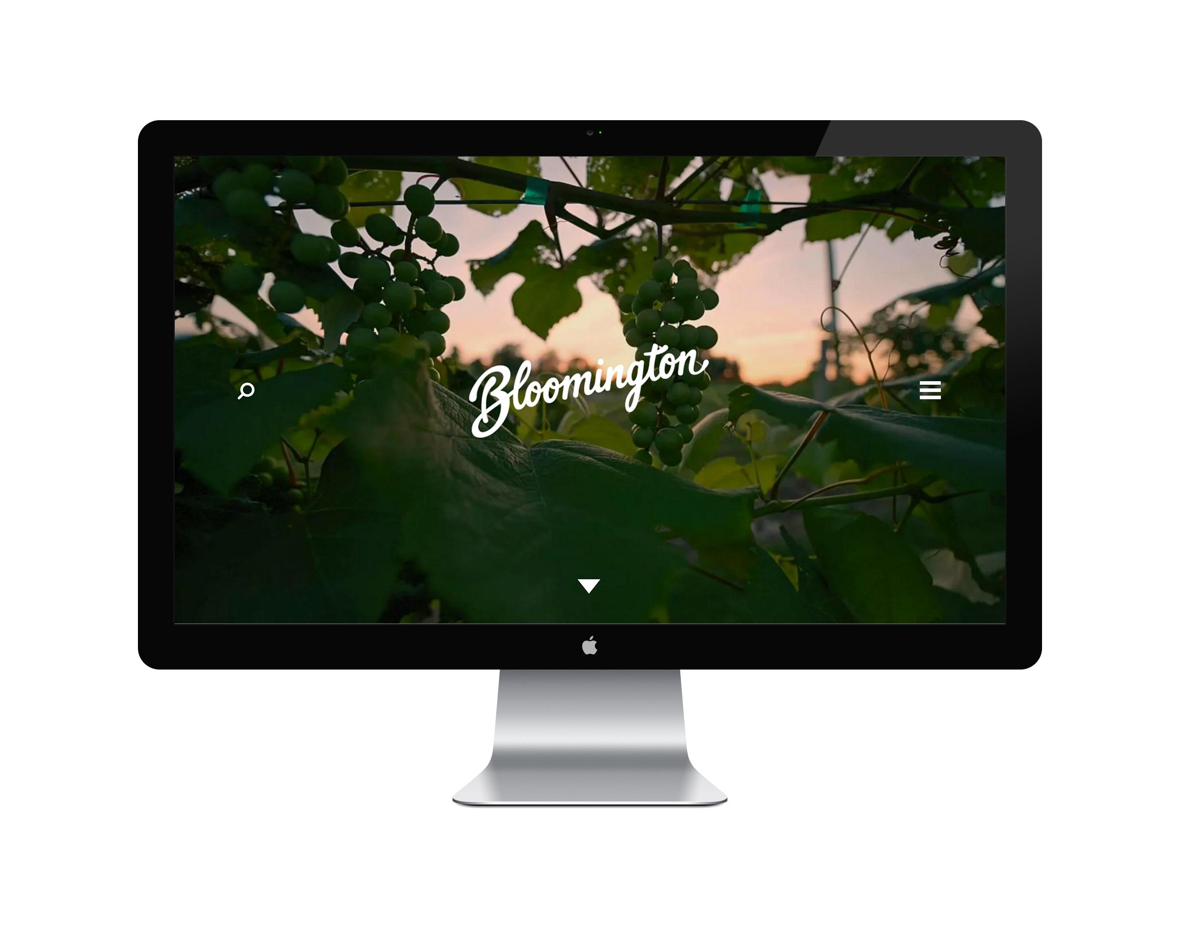 Visit Bloomington Website Home