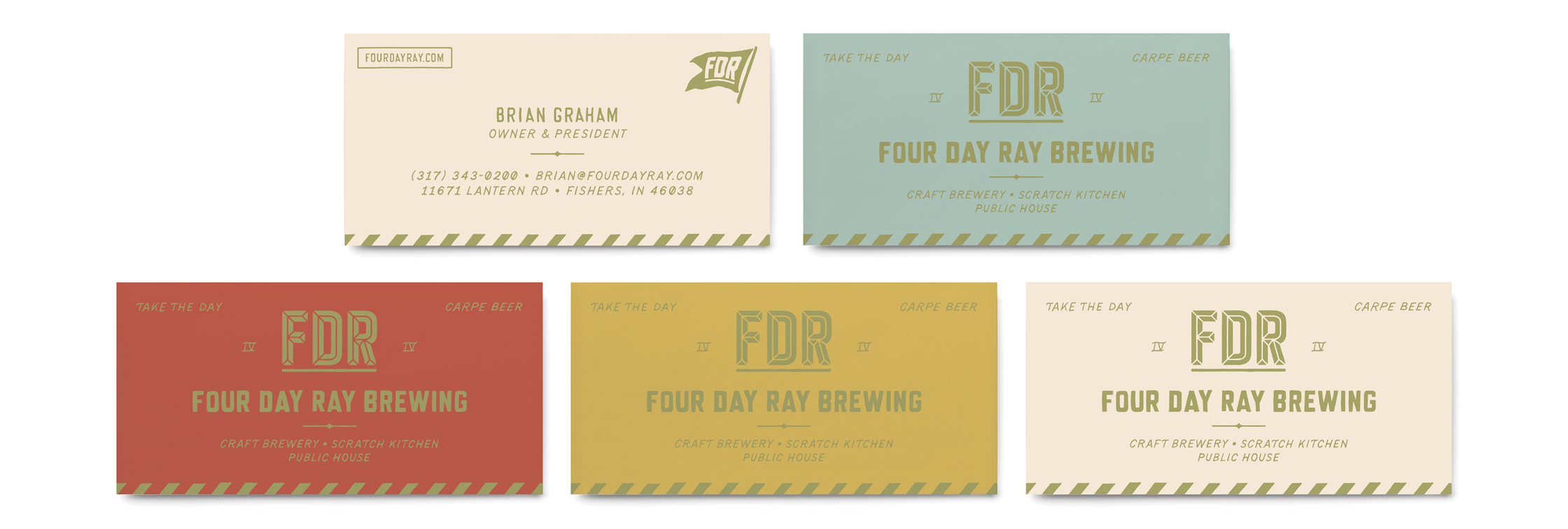 FDR Business Cards
