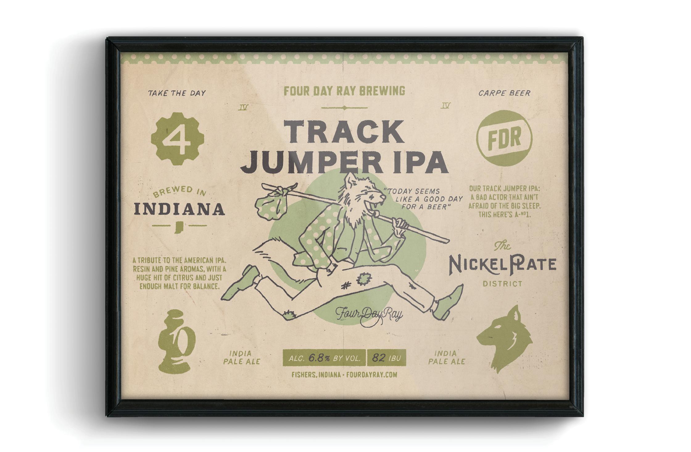 FDR Track Jumper Poster