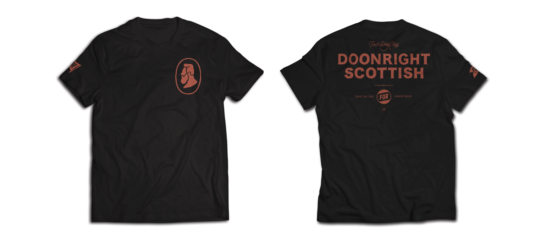 FDR T-Shirt: Doonright Scottish
