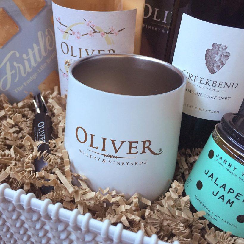 Oliver Winery Branded Media Gift